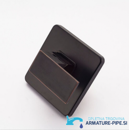 Črni podometni tuš sistem EYN PT79456