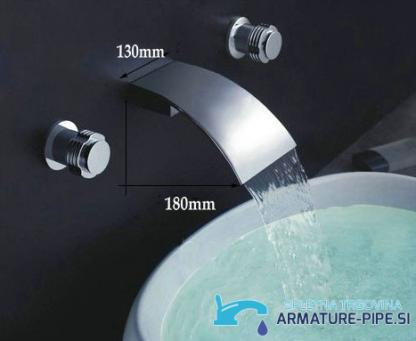 Stenska armatura za umivalnik EYN SU2500