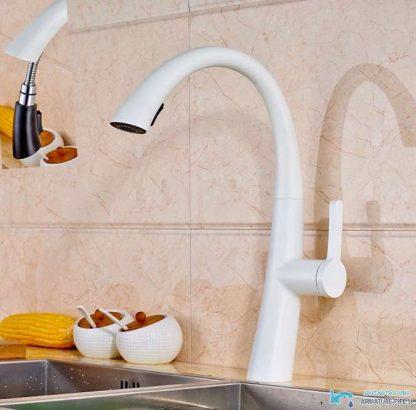 Čudovita izvlečna kuhinjaka armatura | Pipa EYN NBR1900