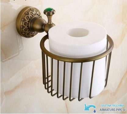 Anticno Drzalo Toaletnega Papirja Nosilec Toaletnega Papirja Eyn Ap2205 1