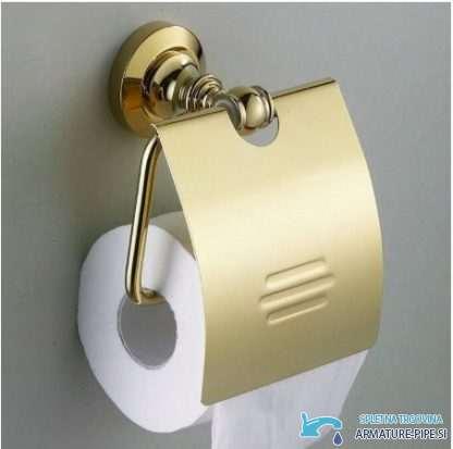 Zlati Dodatki Za Kopalnico - držalo za toaletni papir
