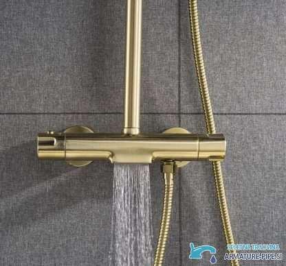 Zlati Nadometni Tus Sistem Termostatska Prha Eyn Gt2251