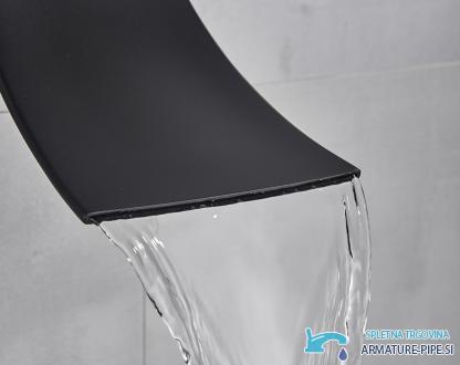Luksuzni Crni Led Sistem Za Tusiranje Z Dodatnim Slapom Podometni Tus Eyn Pt1036 14